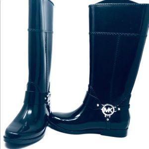 Michael Kors Black Rain-boots Size 7 Women's